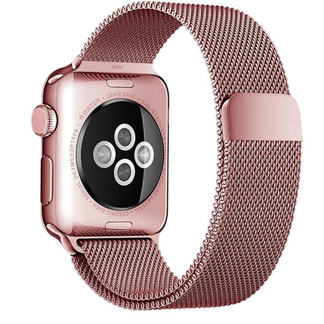 Band For Apple Watch, YMCCOOL Fully Closure Clasp