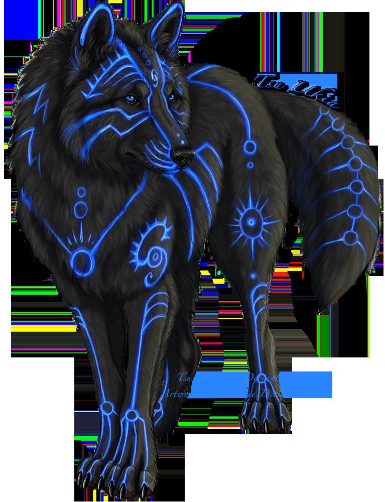 Tsu Ukia by on deviantART Wolf