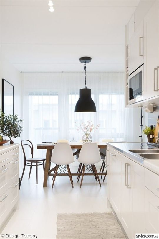 Love The Idea Of A Separate Dining Table From Breakfast Nook Room Lighting