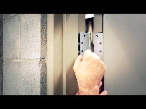 Fixing Uneven Gaps Between A Door And Frame Improper Clearance Youtube Commercial Steel Door Doors Home Repair
