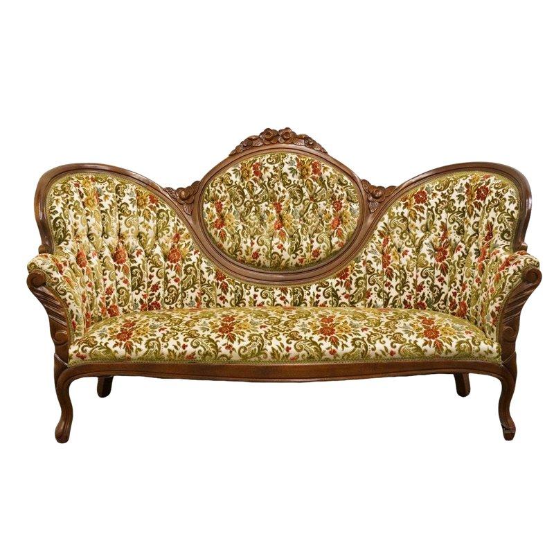 Furniture Victorian Settee, Kimball Antique Furniture