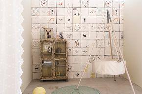 Behang Kinderkamer Stoer : Wat een gaaf lief stoer behang dit nostalgische behang maakt de