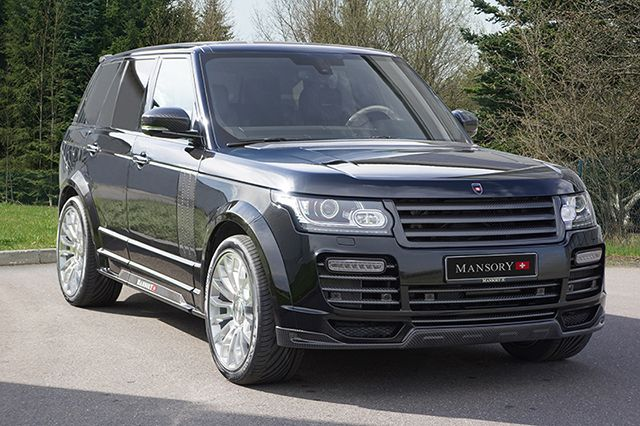 The Mansory Range Rover Vogue is ready for the Boulevard