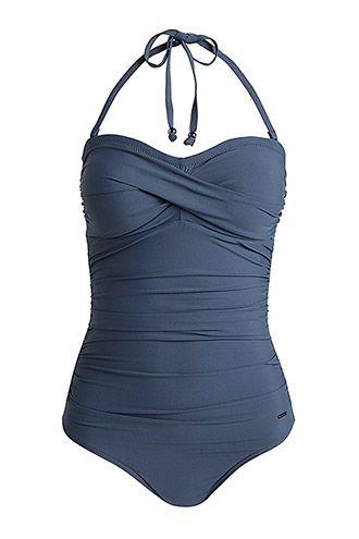 b007756264129e gewatteerd badpak dusty blue | Zyla Energy Color: Dusty Blue
