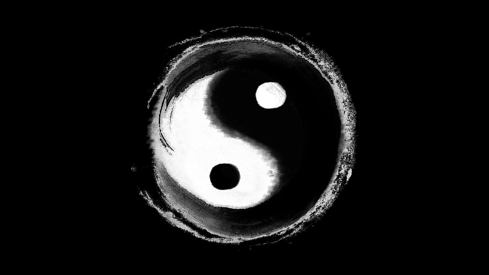 Yin yang iphone wallpaper - Yin Yang Wallpaper 1920x1200 275081 Wallpaperup Ying Yang Symbols Pinterest Yin Yang Ying Yang Symbol And Wallpaper