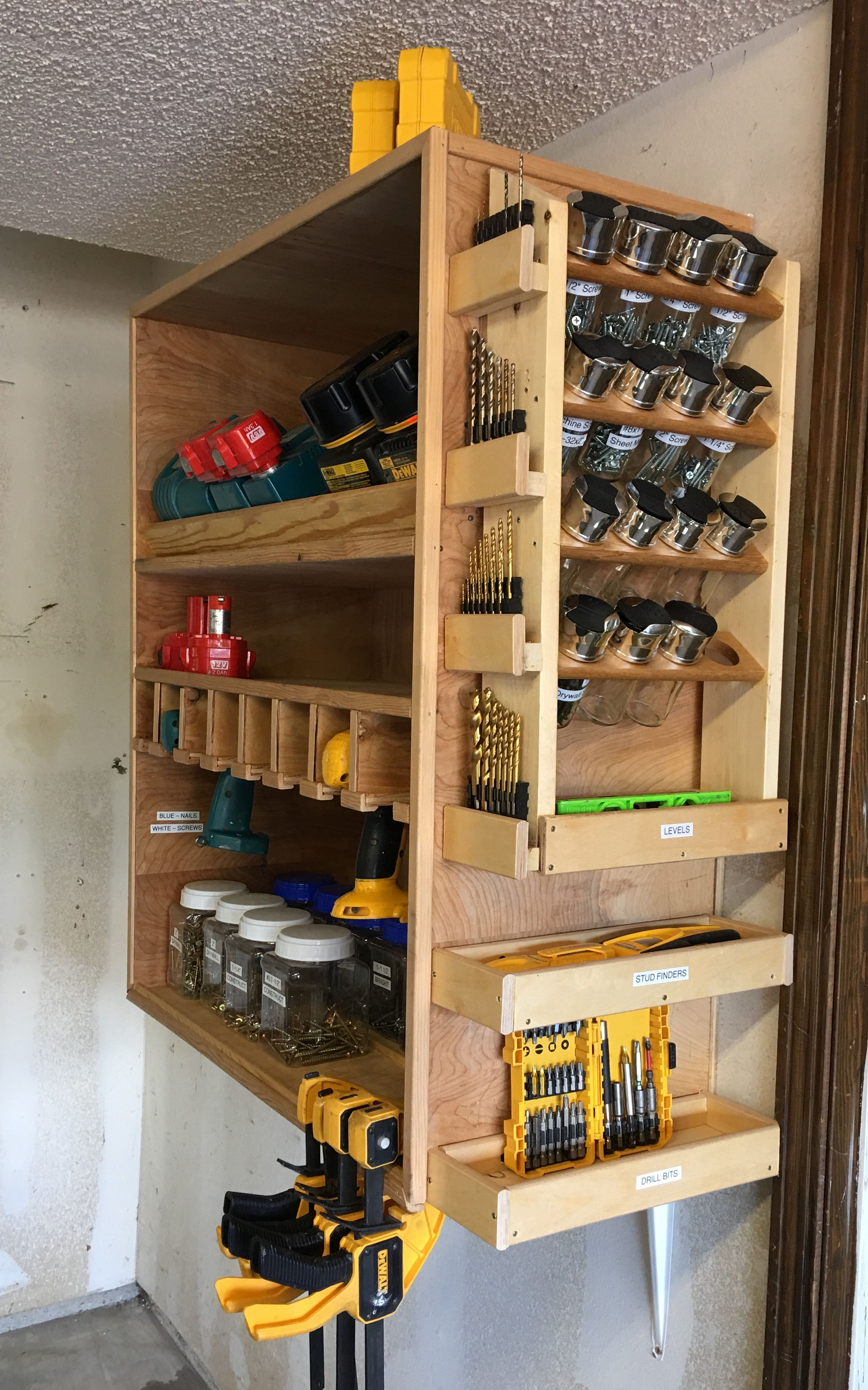 Photo of Spice rack for screws on charger station