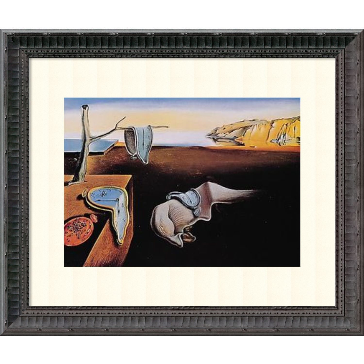 Salvador Dali \'The Persistence of Memory 1931\' Framed Art Print 18 x ...