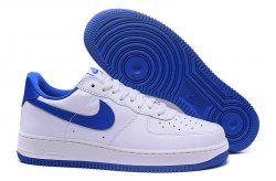 buy popular cbf3f fe092 Unisex Nike Air Force 1 Low QS Summit White Game Royal 845053 102 Men s  Women s Basketball Shoes