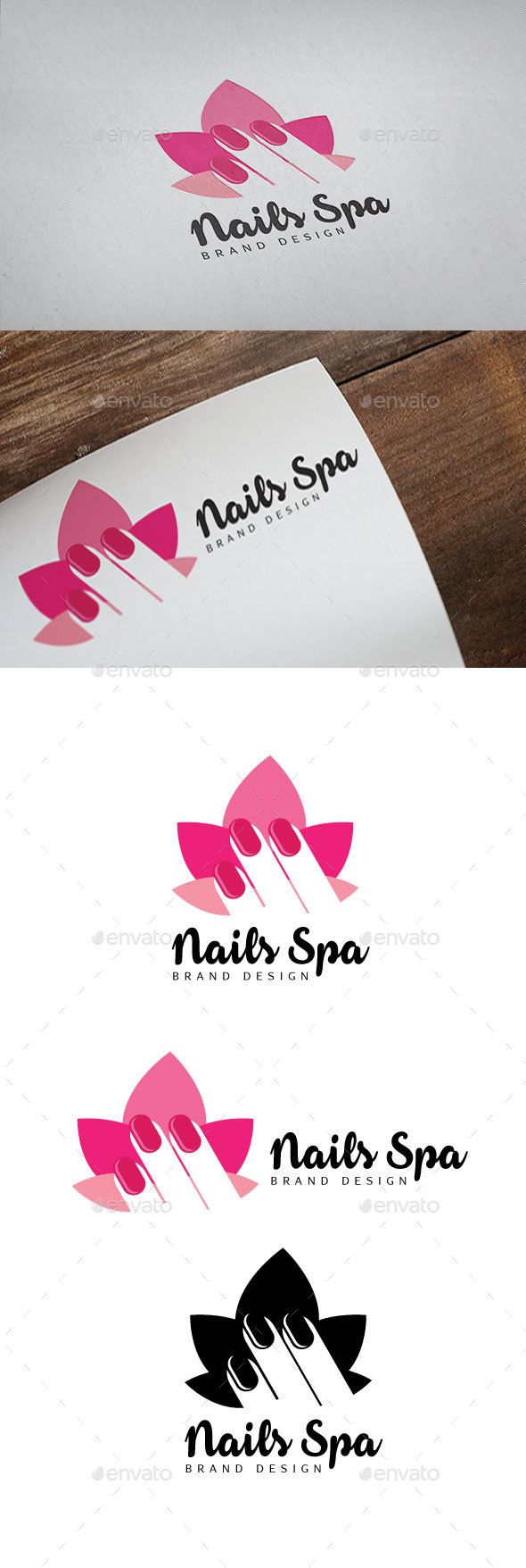 Nails Spa Logo | Spa logo, Nail spa and Spa