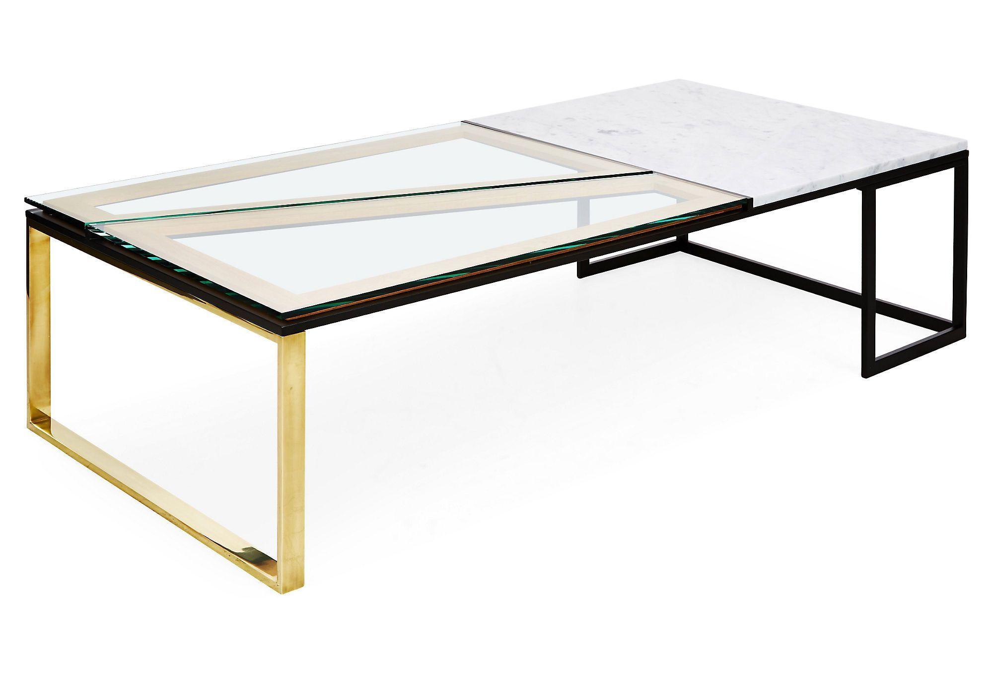 Hialeah Coffee Table White Marble Coffee Table Marble Furniture Coffee Table White [ 1362 x 2000 Pixel ]