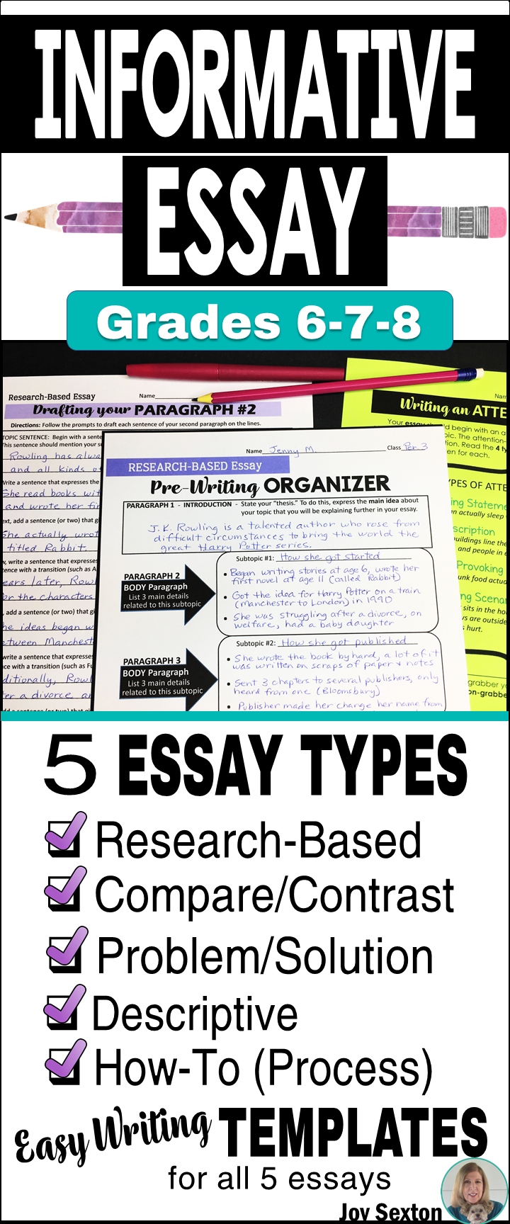 Informative Essay Writing  Informational Essays WGuided Writing