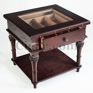 Image Gallery Humidor Table