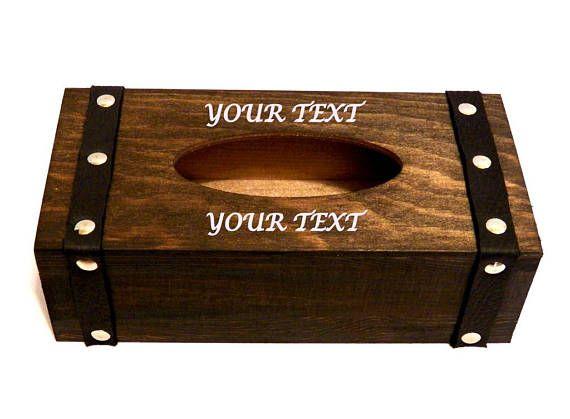 cadeau personnalis homme tissue bois bo te bo te kleenex wooden box pinterest cadeau. Black Bedroom Furniture Sets. Home Design Ideas