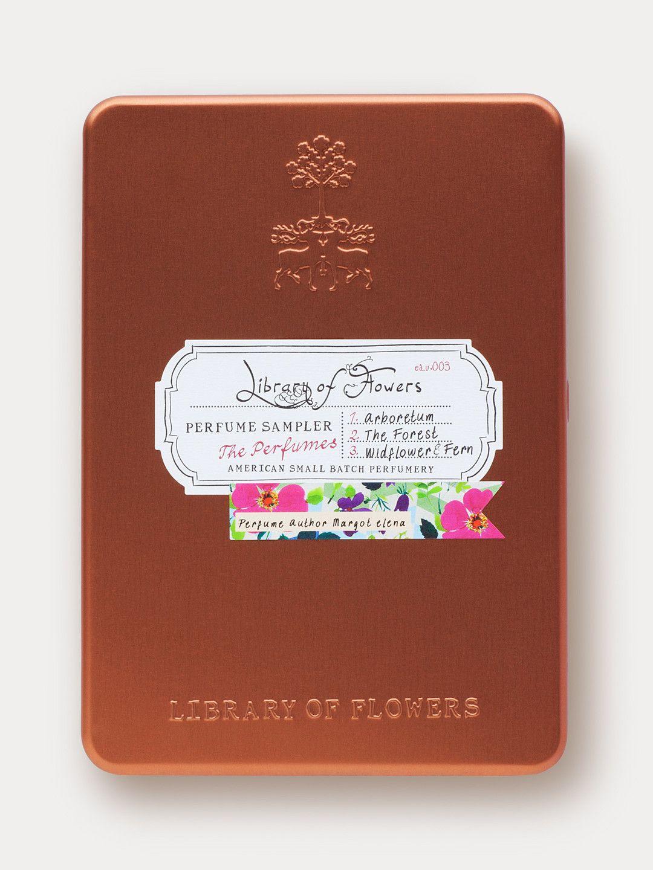 Perfume Sampler Arboretum Library Of Flowers Perfume Gifts Fragrance