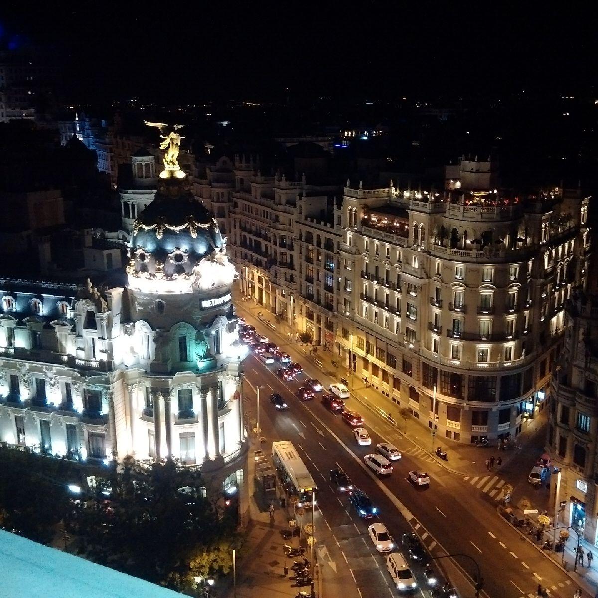 Terraza Del Circulo De Bellas Artes Madrid Travel Us Travel