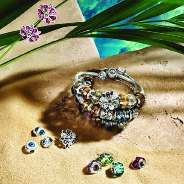 Have you chosen your summer bead yet? #banglemania #banglemaniac #Swarovski #armparty #wristcandy