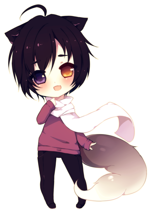 Ichi by on DeviantArt Chibi boy