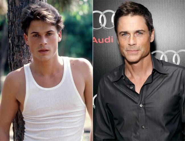 Rob Lowe...young....old....all good