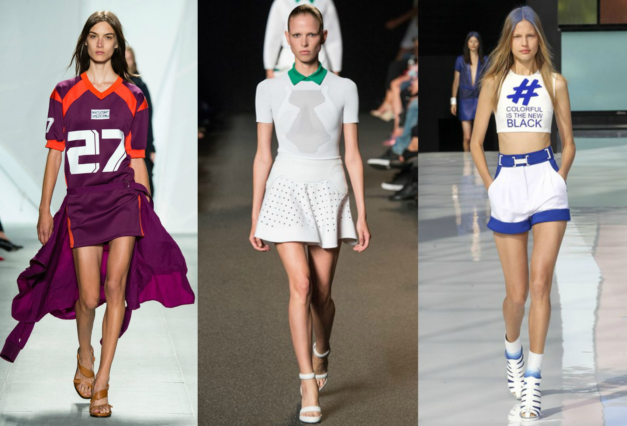 Spring Summer Back In Vogue Sporty Chic Look, The Ideal
