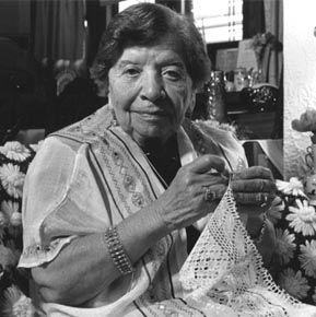 Elizabeth Keosian, Armenian lace-maker
