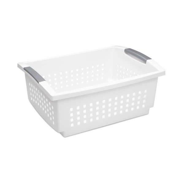 Pin By Robincharmagne On My Polyvore Finds White Storage Sterilite Space Saving Storage