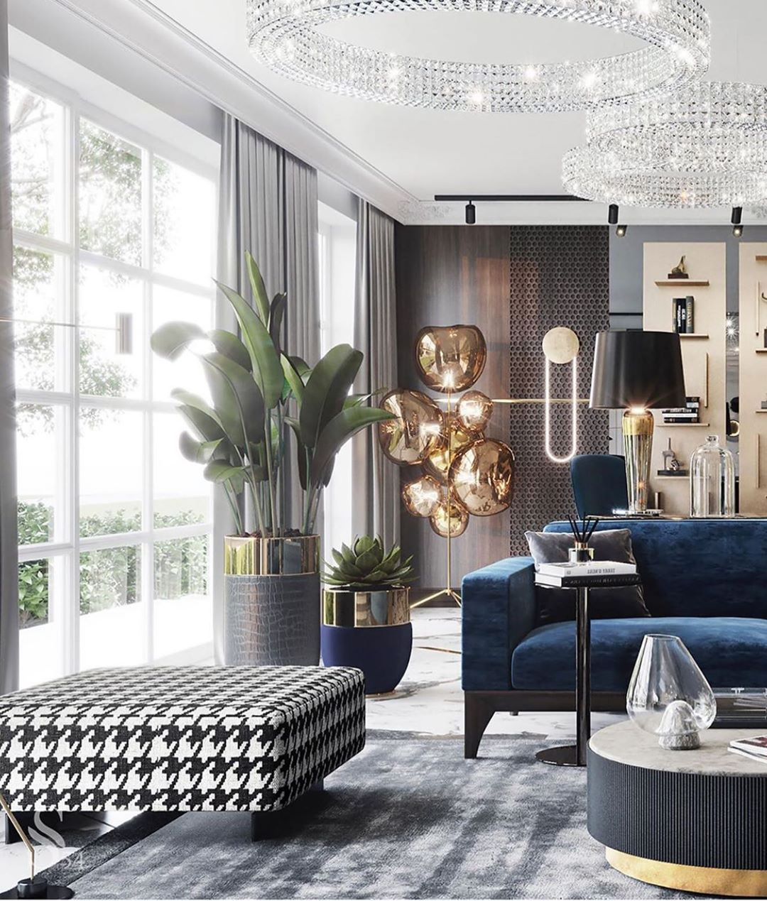 T H I Interiors On Instagram Layers Of Excitement Studia 54 Art Interiors I Luxury Living Room Living Room Designs Interior Design Living Room