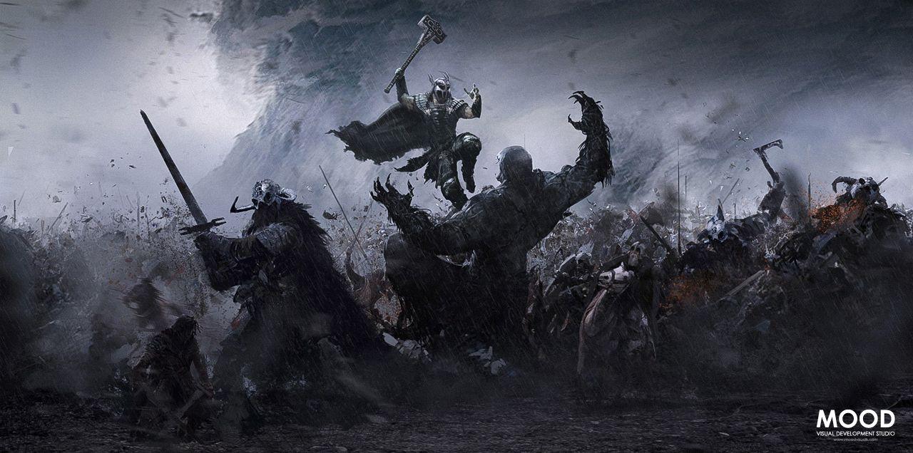 Epic Battle Scene Concept Art World Fantasy Concept Art Concept Art