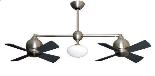 fans cheap twin fan dual ceiling blade metropolitan head ceilings motor