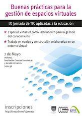 Afiche IX Jornada de TIC aplicadas a la educación para docentes de la FCEA