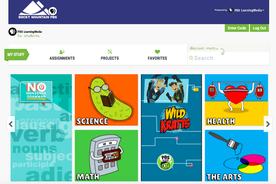 The Library Voice: Build A Personalized Learning Experience For Your Students With The PBS LearningMedia Productivity Tools