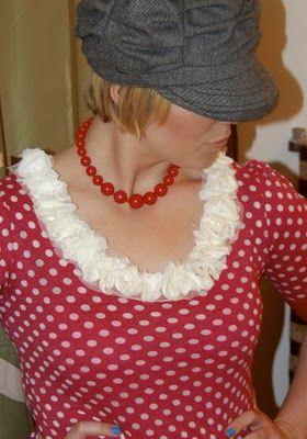 Flower Trim Shirt