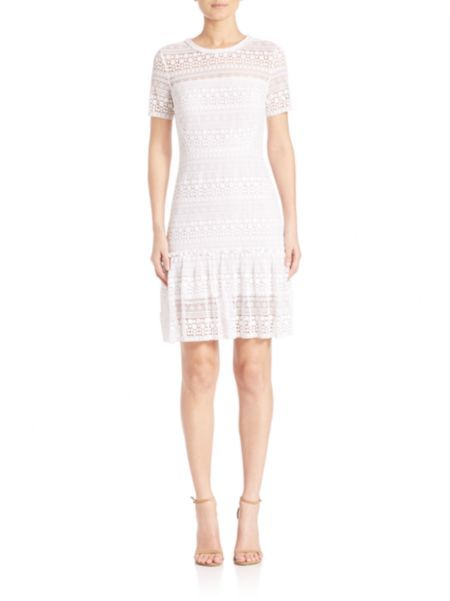 Elie Tahari - Jacey Lace Dress