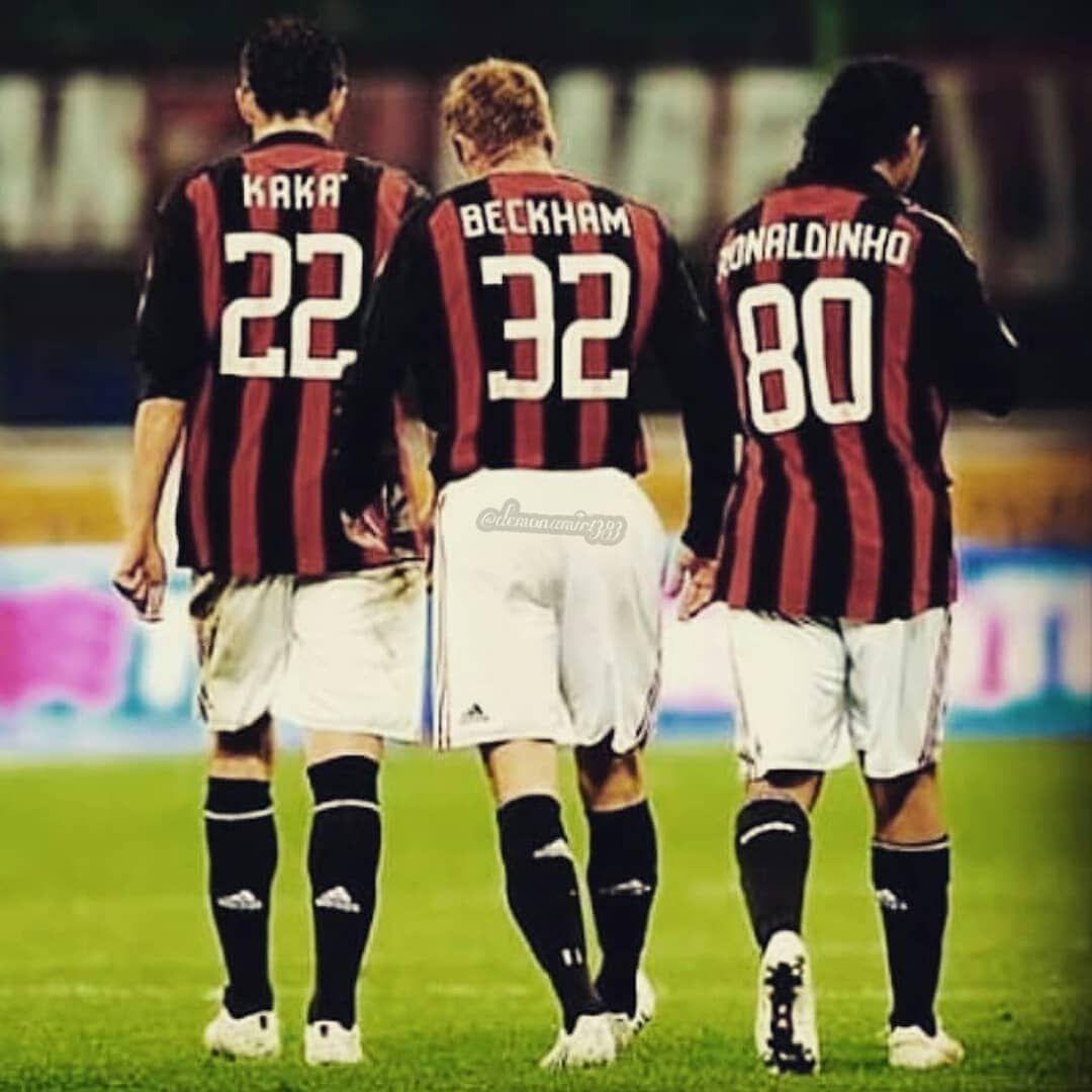 چه عکسی Kaka Ronaldinho Beckham Inzaghi Zelatan Milan