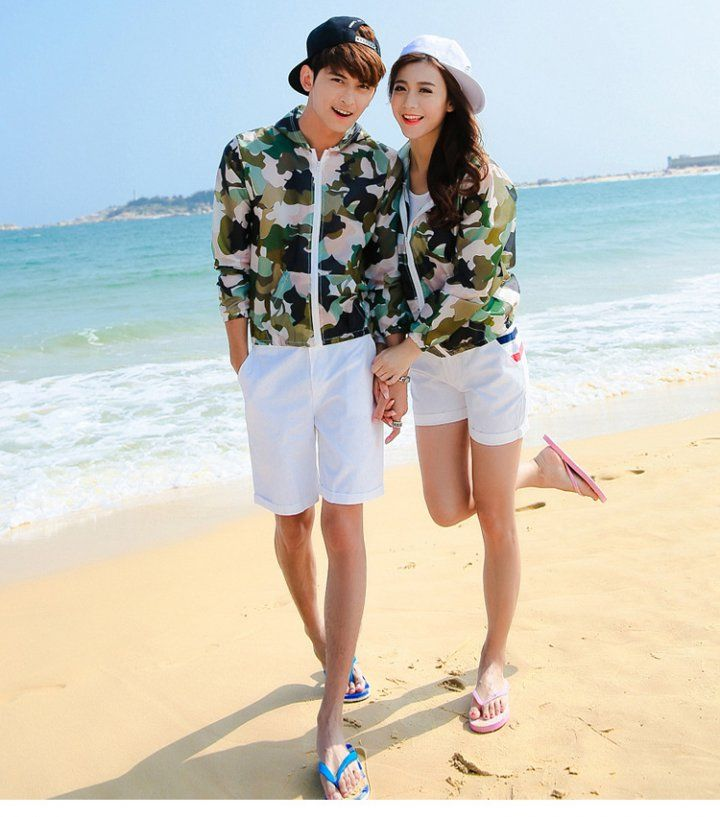 Cc00452 Camouflage Casual School Uniforms Thin Couples Baseball Uniforms