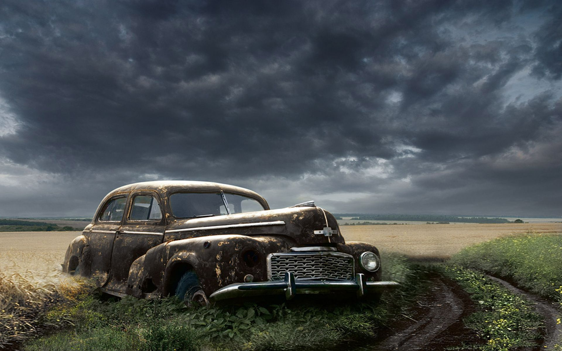 Old Abandoned Car Wallpho Abandoned Cars Car Wallpapers Old