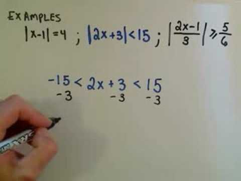 Absolute Value Word Problem - YouTube