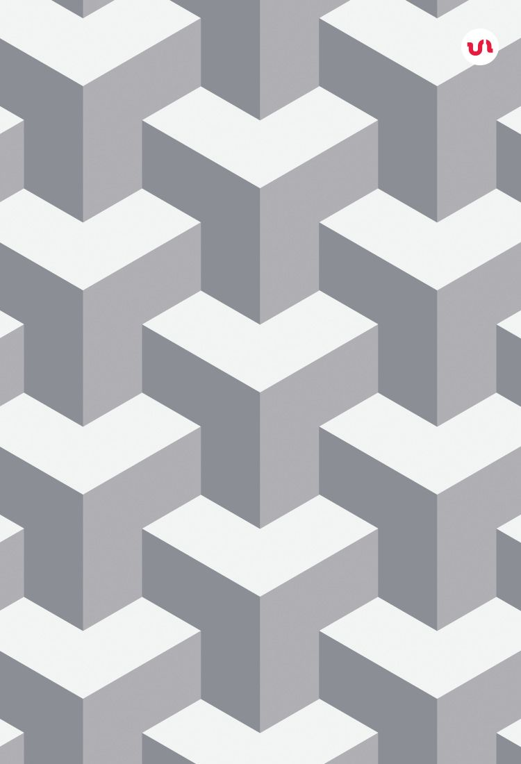 10 Geometric 3D Seamless Vector Patterns They Are Vector