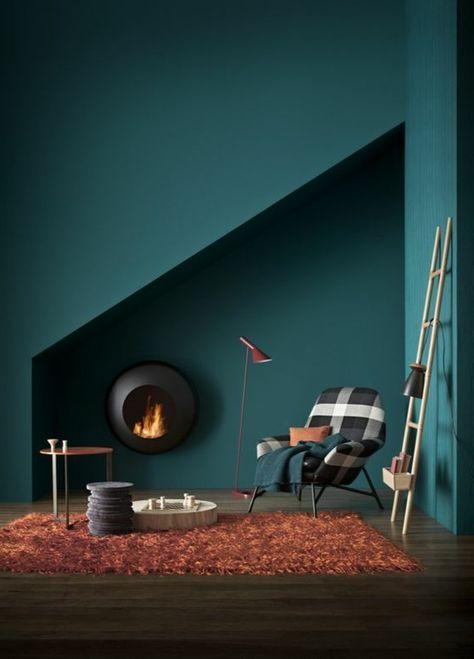 Comment associer les couleurs d'intérieur? Simulateur de peinture gratuit! - Archzine.fr   Murs ...