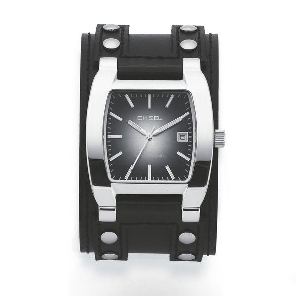 dc749dafe Chisel Mens Black Cuff Watch
