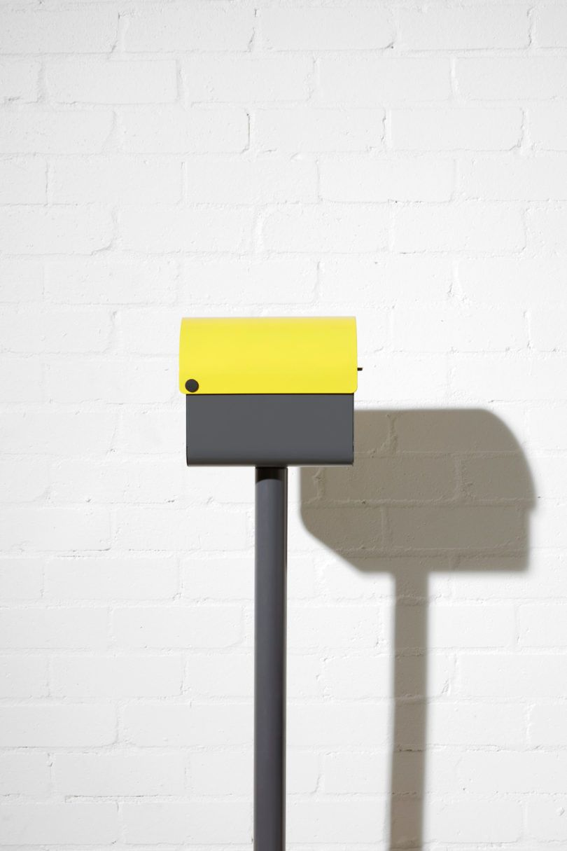 modern mailbox dwell. A Modern, Lockable Mailbox That Will Make Your House Pop Modern Dwell S