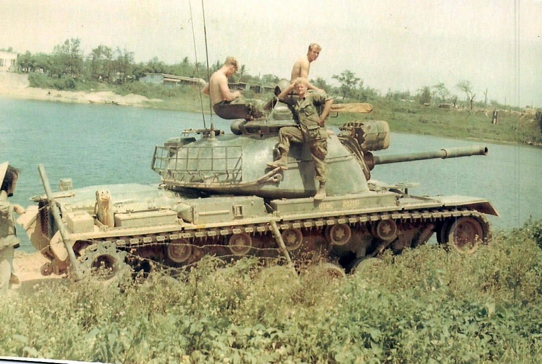 Cooper Hyatt Amp Dog M48 Patton Y Vietnam Pinterest