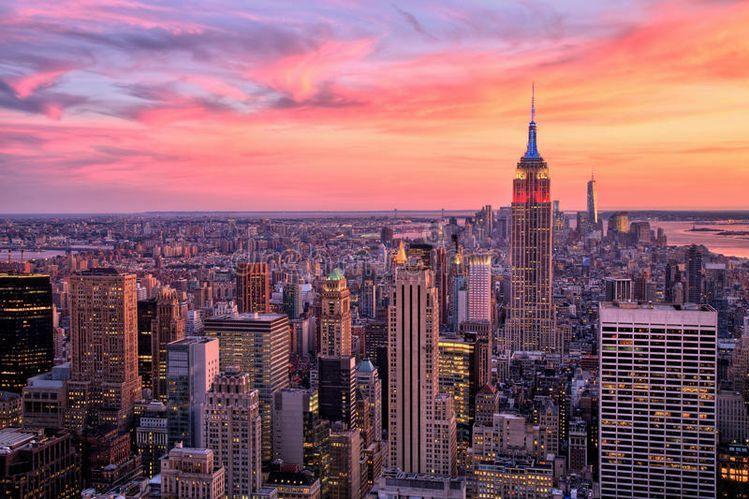 Pinterest Danaakkim New York Wallpaper City Wallpaper New York Sunset