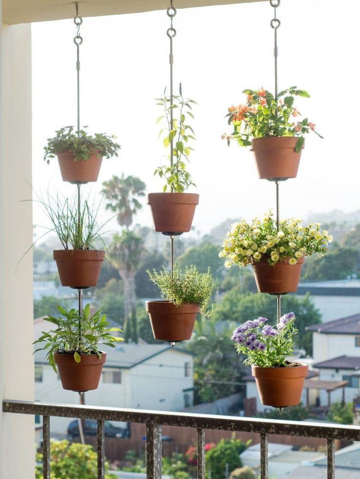 Starting a garden can be a challenge if your deck or patio is the size of a postage stamp. Here are some clever, space-saving garden ideas where large backyards are not required.