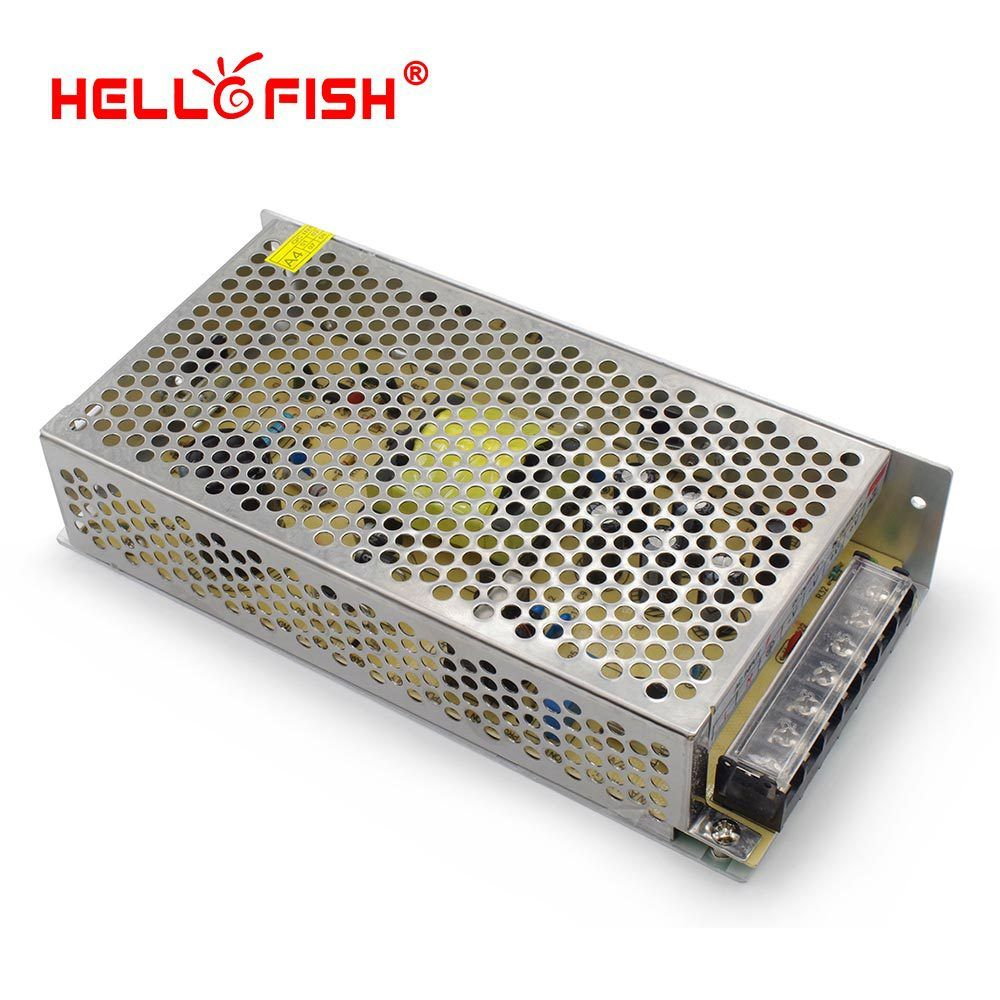 Hello Fish 5v 20a 100w Led Strip Light Transformer 5v Switching Power Supply Led Strip Lighting 12v Led Strip Lighting