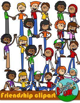 Friendship Kids Clip Art Kids Clipart Friendship Kids Clip Art