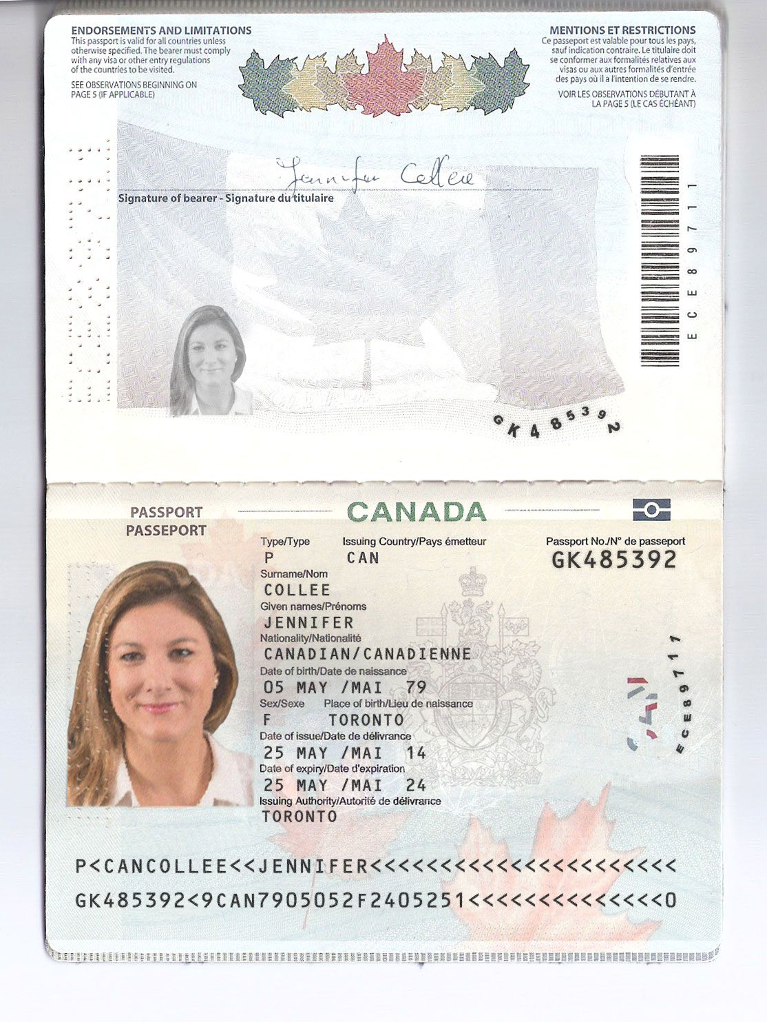 CANADA PASSPORT download link https://satoshibox.com ...