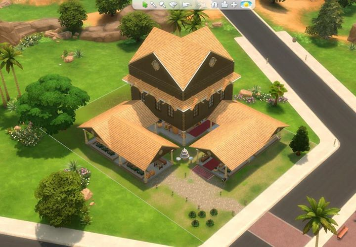 Did You Like Yesterday S Post Of A Town Center Created In The Sims