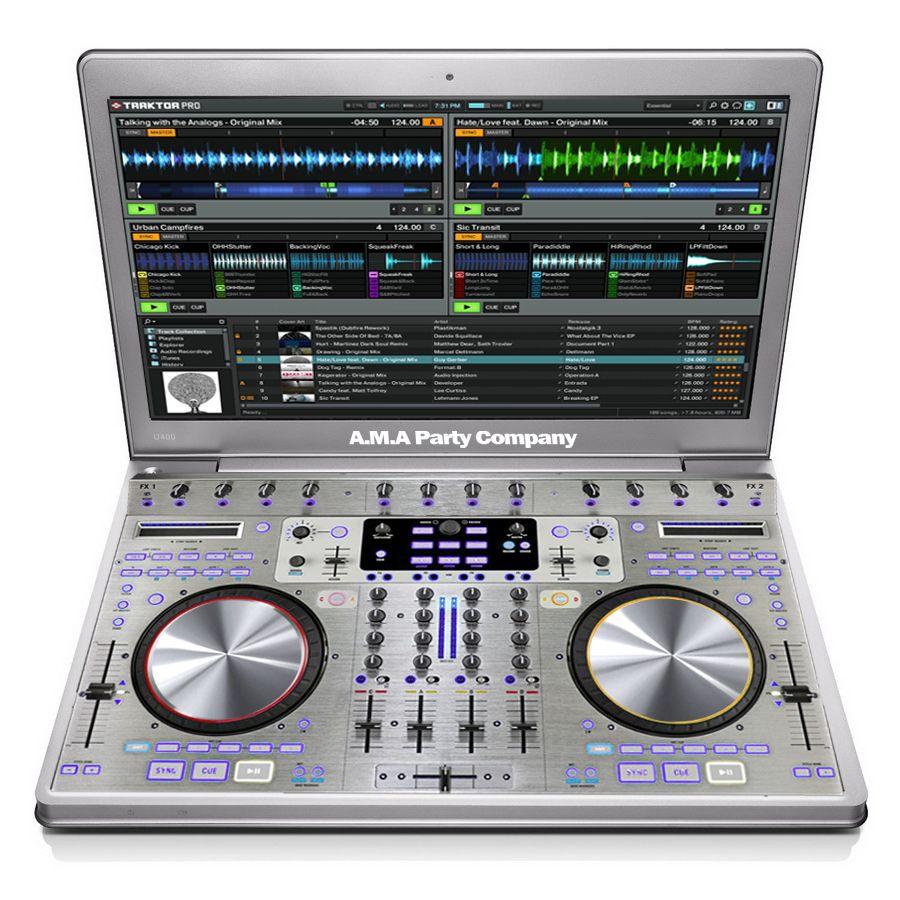 Concept DJ Laptop. This is my Concept PC for DJ's. design