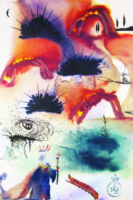 Salvador Dalí, The Lobster Quadrille, 1969, DTR Modern Galleries