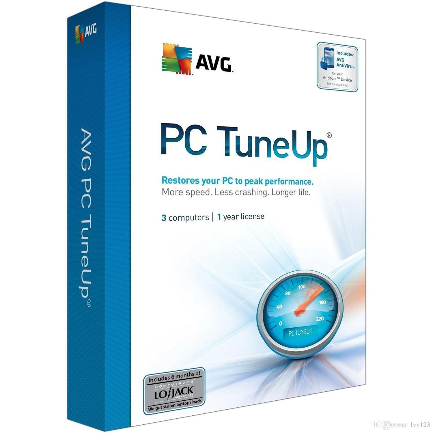 Avg Pc Tuneup 2018 Product Keys Latest Version Free Download ...